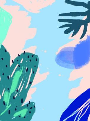 Nền phong cách Bắc Âu Vẽ tay Bối cảnh Kinh Cảnh Kinh Vẽ Hình Nền