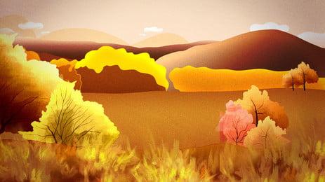 नवंबर खेत चारागाह शरद ऋतु दौरे पृष्ठभूमि सामग्री, पतझड़ का दौरा, शरद पर्यटन, लकड़ी पृष्ठभूमि छवि