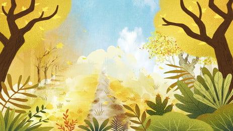 नवंबर गोल्डन फ़ॉरेस्ट बानर पृष्ठभूमि सामग्री लकड़ी चित्रित पेड़ की पत्ती सामान्य नवंबर गोल्डन फ़ॉरेस्ट पृष्ठभूमि छवि