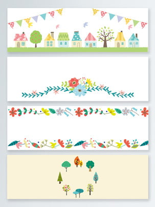 open season hand drawn wind cartoon tree house background , School Season, Hand Drawn Style, Cartoon Background image