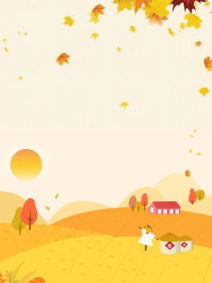 orange sáng mùa thu nền phong , Cam, Sáng Tạo, Lá Phong Ảnh nền
