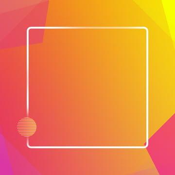 オレンジグラデーションの幾何学的なモザイクの夢のようなミニマルな背景 , オレンジ色, グラデーション, ジオメトリ 背景画像