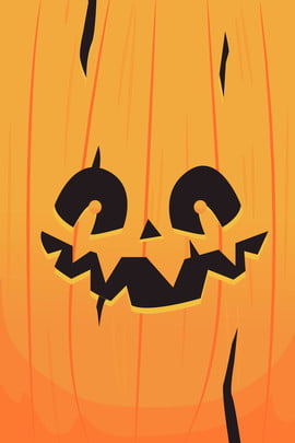 orange halloween pumpkin background , Monster, Simple, Ghost Background image