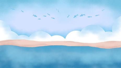 Vẽ bầu trời xanh tuyệt đẹp và nền mây trắng Sơn Vẽ tay Đẹp Bầu trời Bầu Trắng Bối Xanh Hình Nền
