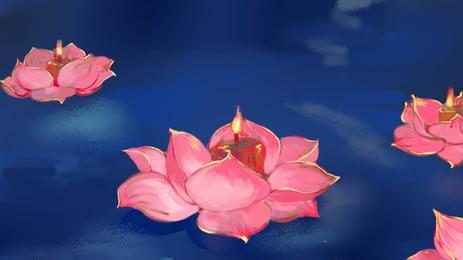 Окрашенные середины осени фестиваль lotus lights Справочный материал свеча розовый Праздник Фоновое изображение