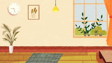 painted warm home living room background design, Painted Background, Warm Background, Home Background Background image