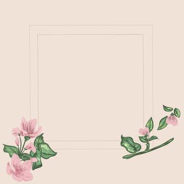 핑크 꽃 미니멀리즘 배경 , 핑크색, 꽃, 단순한 배경 이미지