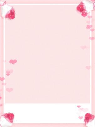 الحب الوردي الزهور لطيف الصورة عيد خلفية ملصق , الزهور, حب, وردي صور الخلفية