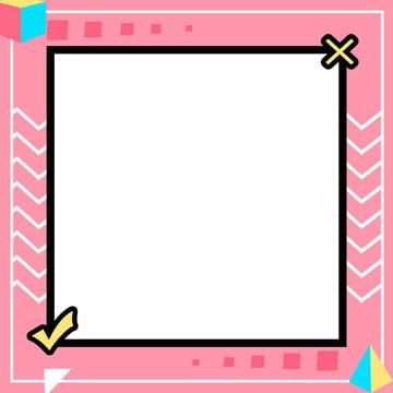 粉色孟菲斯背景 , 孟菲斯, 粉色, 直通車 背景圖片