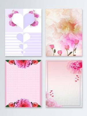 핑크색 어머니의 날 배경 , 핑크색, 배경, 꽃 배경 이미지
