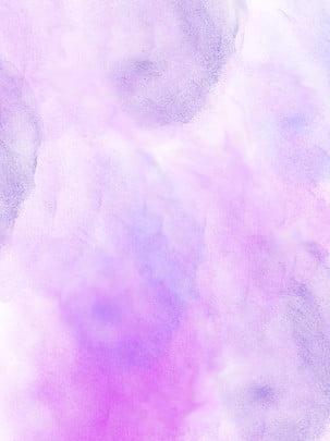 Màu hồng tím gouache nền nước Màu Hồng Màu Hình Nền