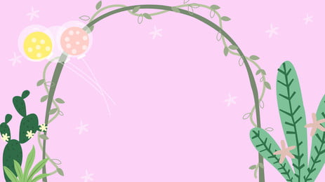 Pink Valentine Day Wedding Design Design Màu hồng Phim hoạt Hồng Phim Phích Hình Nền