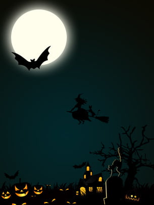 poster halloween background , Poster, Halloween, Simple Background image