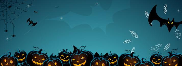 Áp phích nền bí ngô halloween Halloween Bí Ngô Hình Nền