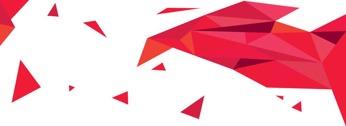 red gradient triangle polygon banner background design, Technology, Geometric, Polygon Background image