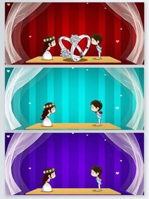 लाल वेलेंटाइन दिवस शादी एक्सपो पृष्ठभूमि , सामग्री, पृष्ठभूमि, शादी का मेला पृष्ठभूमि छवि