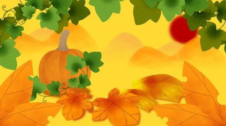 ताज़ा कद्दू विज्ञापन पृष्ठभूमि, पौधा, विज्ञापन की पृष्ठभूमि, ताज़ा पृष्ठभूमि छवि