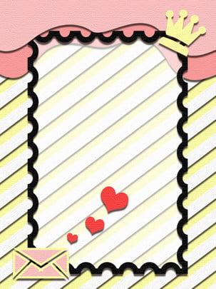 浪漫粉色摺紙微立體背景 , 浪漫, 粉色, 摺紙 背景圖片