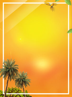 दर्शनीय ग्रीष्मकालीन यात्रा समुद्र तट की पृष्ठभूमि , नारियल का पेड़, समुद्र तट, गर्मी पृष्ठभूमि छवि