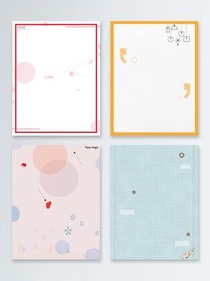 Fundo de cartaz primavera simples e fresca Atmosfera Pink Azul Imagem Do Plano De Fundo