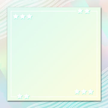 Simple And Stylish Gradient Green Fresh Background, Little Stars, Gradient, Green, Background image