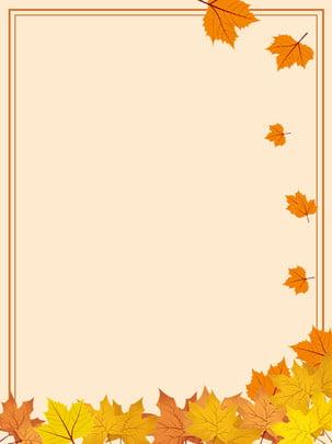simple autumn fallen leaves background , Simple, Fallen Leaves, Maple Background image