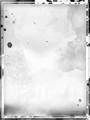simple black and white chinese style ink dot background , Ink Background, Ink Dot Background, Splash Background Background image