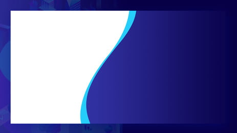 Matériau de fond bicolore bleu et blanc simple Bleu Blanc Bordure Image De Fond