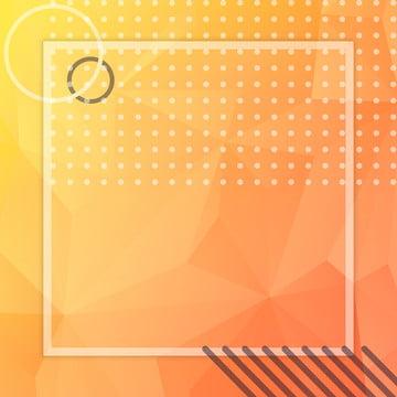 簡約明亮活潑橘色創意幾何直通車背景 , 廣告背景, 活潑, 明亮 背景圖片