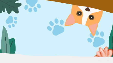 सरल घास पिल्ला विज्ञापन पृष्ठभूमि, विज्ञापन की पृष्ठभूमि, ताज़ा, सुंदर पृष्ठभूमि छवि
