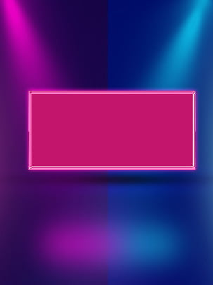 Simple Red And Blue Contrast Stage Lighting Effects Background, Simple, Red Blue, Contrast Color, Background image