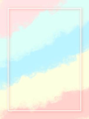 煙霧式馬卡龍色拼接百搭背景 , 煙霧式, 馬卡龍, 粉色 背景圖片