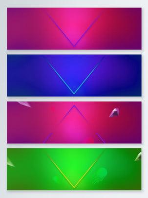 thể dục thao neon mẫu biểu ngữ nền , Hình Học Neon, Đầy Màu Sắc, Nổi hình nền
