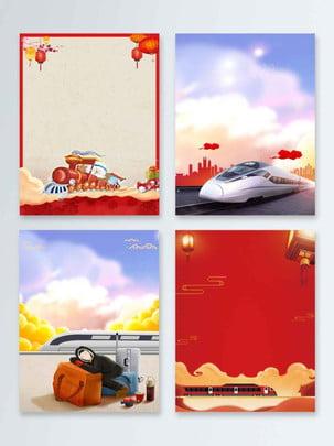 Lễ hội mùa xuân vẽ tay minh họa nền poster Vẽ Tay Minh Hình Nền