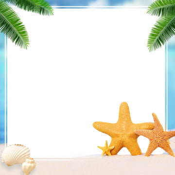 starfish beautiful album background source file , Hawaii, Vacation, Album Background image