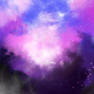 星空の夢のような背景 , 星空の背景, 星空, 紫色 背景画像
