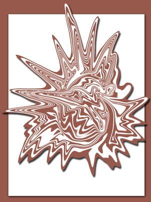 Âm thanh nổi trừu tượng latte nền Ba chiều Vẽ tay Lễ Tay Lễ Doanh Hình Nền