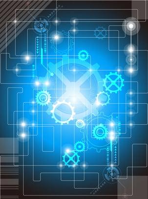 elegante sfondo geometrico tech sullo , Ai, Marcia, Scienza E Tecnologia Immagine di sfondo
