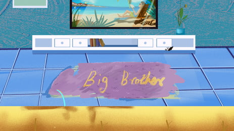 समर होम लिविंग रूम टीवी पृष्ठभूमि सामग्री, गृहस्थी, फर्श की चटाई, फर्श की टाइल पृष्ठभूमि छवि