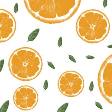 여름 오렌지 배경 자료 , 주황색, 여름, 나뭇잎 배경 이미지