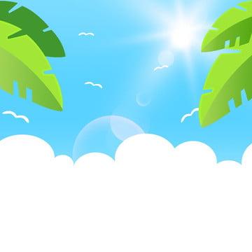 Arquivos de fonte fundo ilustração mestre nuvens brancas verão havaí Criativo Caricatura Havaí Imagem Do Plano De Fundo