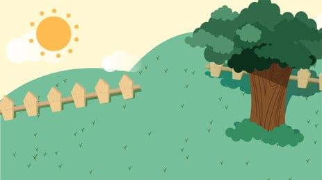 Projeto de fundo aprendizagem ao ar livre do cartoon escola dia professor Fundo Dos Desenhos Imagem Do Plano De Fundo