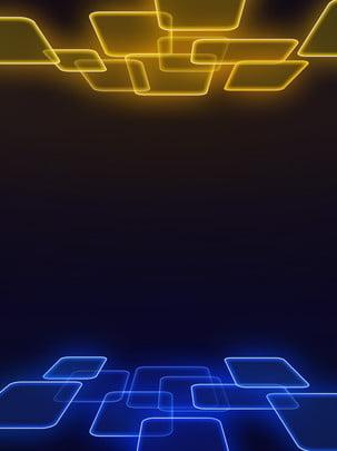 teknologi biru latar belakang ruang kecerunan geometri kuning , Teknologi, Geometri, Biru imej latar belakang