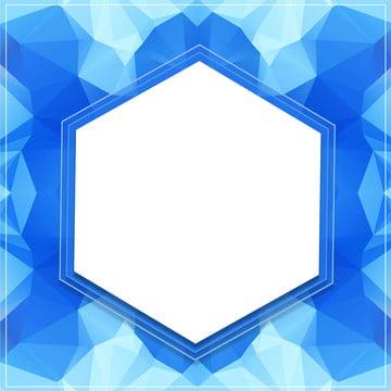 melalui latar belakang kereta api biru poligon yang rendah , Poligon, Kreatif, Biru imej latar belakang