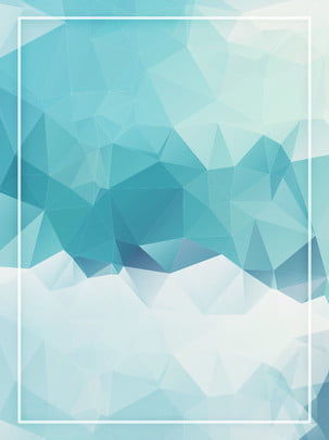 trendy minimalistic polygonal blue green gradient mountain background , Mountain Range, Blue, Gradient Background image