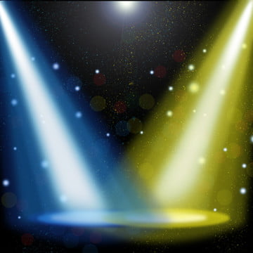 Tricolor Light Stage Background, Stage, Light, Dazzling, Background image