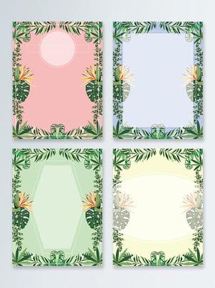 熱帶植物背景 , 熱帶植物, 棕櫚葉, 植物 背景圖片
