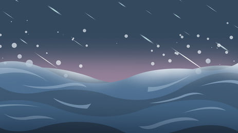 Twill Weave Rain Starry Sky Background On Blue Ocean, Blue, Ocean, Twill Weave, Background image