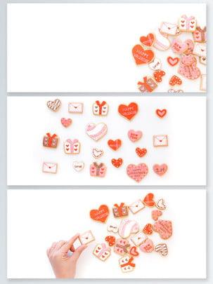 Ngày valentine màu hồng tình yêu lãng mạn cookies triển lãm đẹp Ngày Lễ Tình Hình Nền
