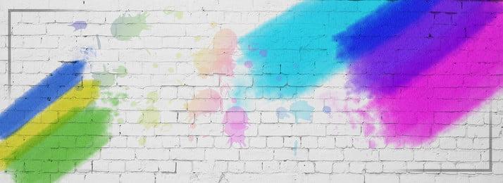 bức tường graffiti phun nền, Tường, Graffiti, Máy In Phun Ảnh nền